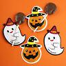 50pcs DIY Halloween Lollipop Cards Lollipop Holder Paper Card Gift Candy DeMAEK