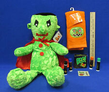 Halloween Plush Green Ghost Toy By Royal Plush Finger Towel & Avon Makeup Lot 3