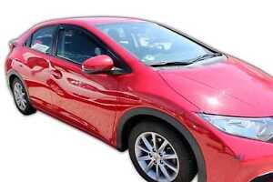 Honda Civic IX 5p 2012-2016 htb/break Deflecteurs d'air Déflecteurs de vent 2pcs