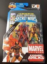 Marvel Universe 25th Anniversary SECRET WARS WOLVERINE-HUMAN TORCH issue#2