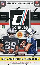 2015 DONRUSS FOOTBALL 1BOX BREAK~LIVE~ DETROIT LIONS  -  2 HITS!!