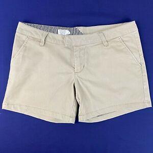 VOLCOM Ladies Grey Shorts - Size 7 Cotton Blend Like New