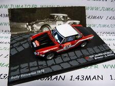 RIT2M 1/43 IXO Altaya Rallye FIAT 124 abarth San rémo 1973 Verini/Torriani