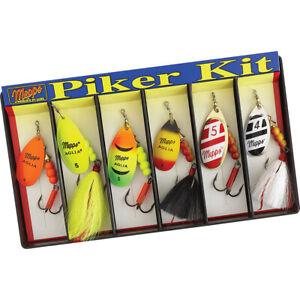 Mepps KHP5A Piker Kit - #4 and #5 Aglia Assortment