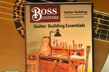 "GUITAR BUILDING: ""Guitar Building Essentials"" DVD for beginners"