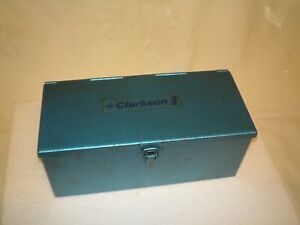 CLARKSON AUTOLOCK 2 MT WITH 8 COLLETS ENGINEERS TOOLING END MILL SLOT DRILL