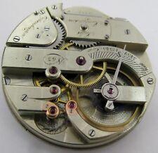 Impressive Jules Jurgensen at Copenhagen Pocket Watch 63 Movement for parts ...