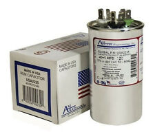 40 + 5 uF MFD x 370 / 440 VAC Motor Run Capacitor AmRad USA2235 - Made in USA