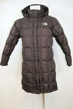 The North Face Women's Metropolis Goose Down 600 Hooded PARKA Jacket Medium