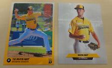 2018/19 Rhys Niit cards - Brisbane Bandits - Aussie Baseball - Canberra Cavalry