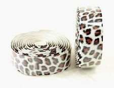 VELO PRO HANDLEBAR TAPE WITH END PLUGS, LEOPARD PATTERN