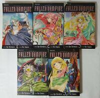 Fallen Vampire Manga Volumes 1-5 Viz Media Pre-Owned