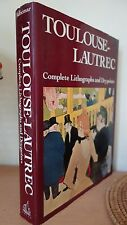 TOULOUSE-LAUTREC - Complete Lithographs and Drypoints Adhémar -Wellfleet  3000 g