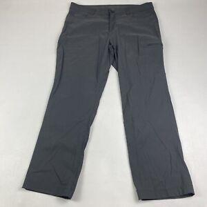 Eddie Bauer Stretch Nylon Cargo Hiking Pants Gray Women's Size 14
