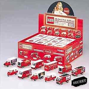 Tomica Kuji VIII Coca-Cola Art Collection BOX Minicar Japan Import NEW