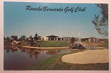 Vintage Postcard of Rancho Bernardo Golf Club in San Diego, California