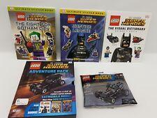 Lego Super Heroes Adventure Pack Batmobile Car & Sticker Books