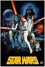 """STAR WARS Movie Poster [Licensed-NEW-USA] 27x40"""" Theater Size (E)"""