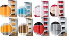 SALE!!  READY MADE CURTAIN SINGLE PANEL STRIPED  VOILE EYELET RING TOP.