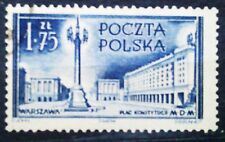 POLAND STAMPS Fi687 Sc596 Mi825 - Buildings in Warsaw, 1953, used