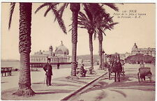 Nice France les Palmiers on the southeast coast pre-1920 view likely
