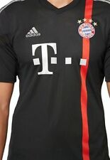 Camisetas de fútbol negras para hombres