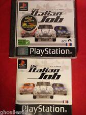 THE ITALIAN JOB PLAYSTATION 1 THE ITALIAN JOB PS1 PS2 PS3