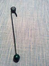Old German Metal Ball Christmas Candle Holder