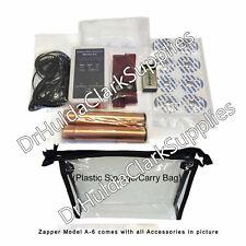 DR questo HULDA CLARK-modello A-6 GENERATORE D'ONDA quadrata Zapper-wristraps/maniglie