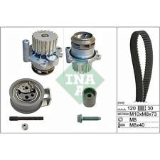 Bomba de agua+kit correa de distribución VW Audi Skoda Seat - INA 530 0091 30