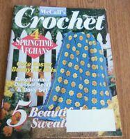 ~ ~ ~ MCCALL'S CROCHET ~ APRIL 1996 ~ EXCELLENT PATTERNS ~ ~ ~
