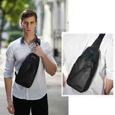 Waterproof Men's Shoulder Bag Cross body sling bag Sports Backpack Chest bag