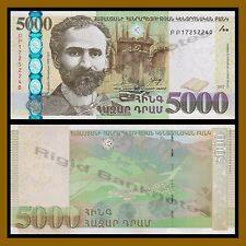 Armenia 5000 Dram, 2012 P-56 Unc