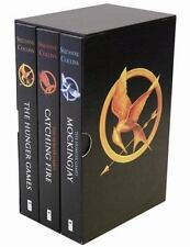 NEW The Hunger Games Trilogy Box Set Paperback Suzanne Collins - Factory Sealed