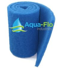 "Aqua-Flo Rigid Pond Filter Media, 12.5"" x 72"" (6 Feet) Allows Maximum Flow Rate!"