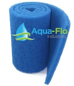 "1"" Aqua-Flo Rigid Pond Filter Media, 6"" x 72""(6 Feet) Allows Maximum Flow Rate!"