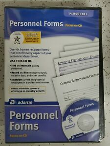 Adams Personal Forms and Employment Agreements on CD, (HR453) Made In US *SEALED