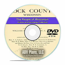 Wisconsin WI, People & Civil War History and Genealogy 29 Books DVD CD B20