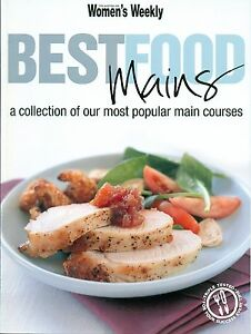 Women's Weekly - BEST FOOD MAINS - NEW CONDITION - FREE POST