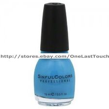 SINFUL COLORS Professional #950 SAVAGE* Nail Polish/Enamel BLUE/GREEN