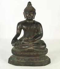 Early Asian Antique Buddha Bronze Statue