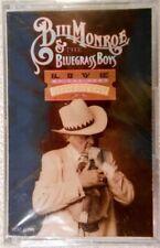 NEW Bill Monroe & the Bluegrass Boys - Live At The Opry (1989 Cassette, MCA)