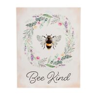 Bee Kind Wall Canvas LED Light Sign