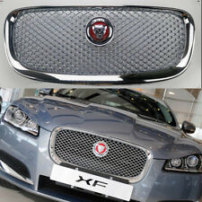 For Jaguar XF XFR 2012-2014 Grille Grill All Chrome