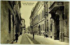 Cartolina Formato Piccolo - Casale Monferrato - Via Vitt. Emanuele Viaggiata