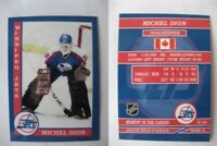 2015 SCA Michel Dion Winnipeg Jets goalie never issued produced #d/10