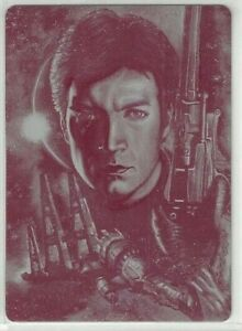 2015 Firefly The Verse Printing Plates Magenta #26 Bushwhacked 1/1 Malcolm Mal