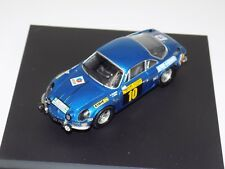 1/43 Trofeu Alpine Renualt A110 #10 1941 San Remo 4th Place TRF 828