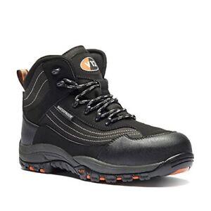 V12 V1501 11 Caiman Safety boot, UK size 11, Black graphite