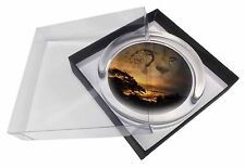 Cheetah Watch Glass Paperweight in Gift Box Christmas Present, AT-41PW